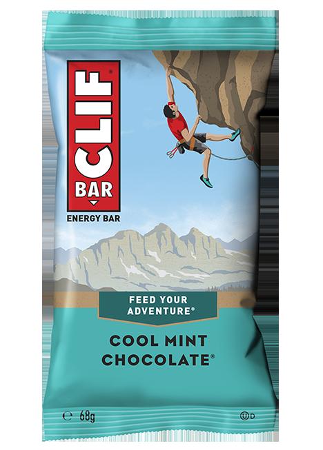Barre menthe chocolat, Clif (68 g)
