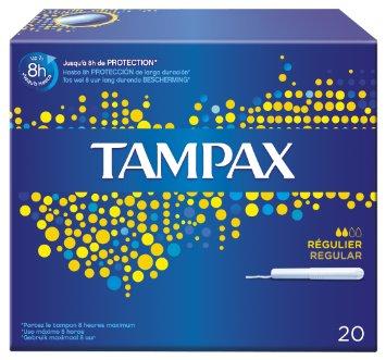Tampons classique régulier, Tampax (x 20)