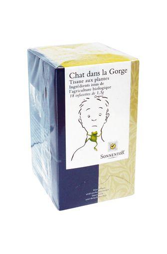 """Tisane BIO """"Chat dans la Gorge"""", Sonnentor (x 18)"""