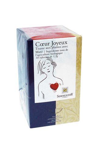 "Tisane BIO ""Coeur Joyeux"", Sonnentor (x 18)"