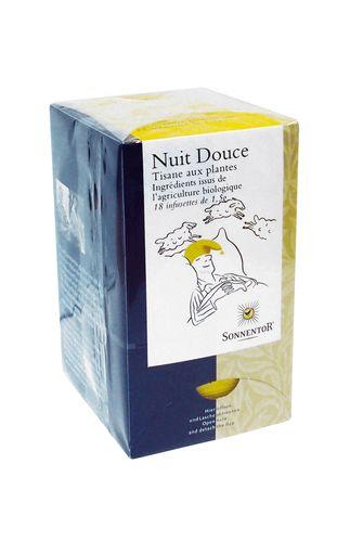 "Tisane BIO ""Nuit Douce"", Sonnentor (x 18)"