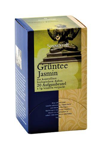 Thé vert jasmin BIO, Sonnentor (x 18)