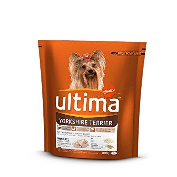 Croquettes pour chien spécial petit Yorkshire, Ultima (800 g)