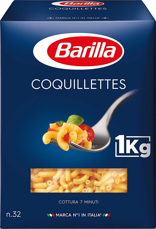 Coquillettes cuisson rapide, Barilla (1 kg)