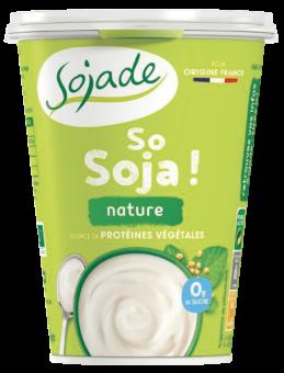 Sojade nature sans arôme So Soja, Sojade (400 g)