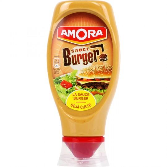 Sauce pour burger flacon souple, Amora (448 g)