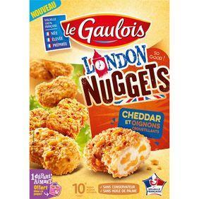 Nuggets poulet cheddar oignons, Le Gaulois (x10, 200 g)