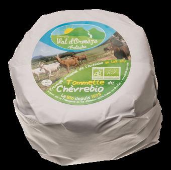 Tommette de chèvre BIO, 21 % MG, Fromagerie Val d'Orm (300 g)