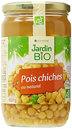 Pois chiches BIO, Jardin Bio (660 g)