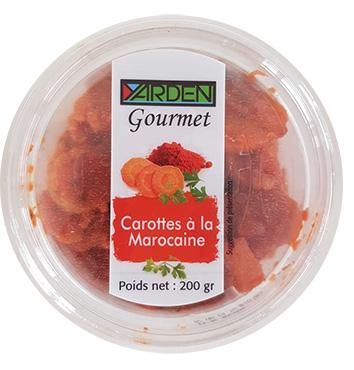 Carottes à la marocaine, Yarden Gourmet (200 g)