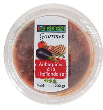 Aubergines à la thailandaise, Yarden Gourmet (200 g)