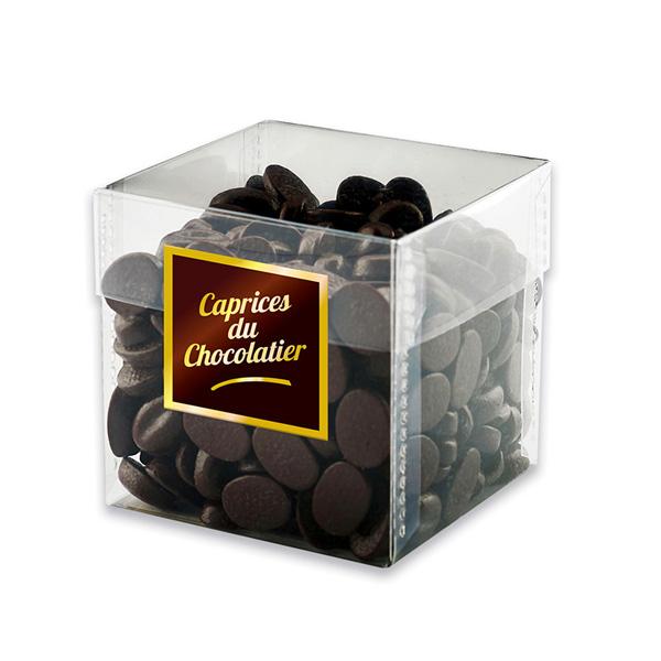 Cube Grains de café au chocolat, chocolaterie Schaal (160 g)