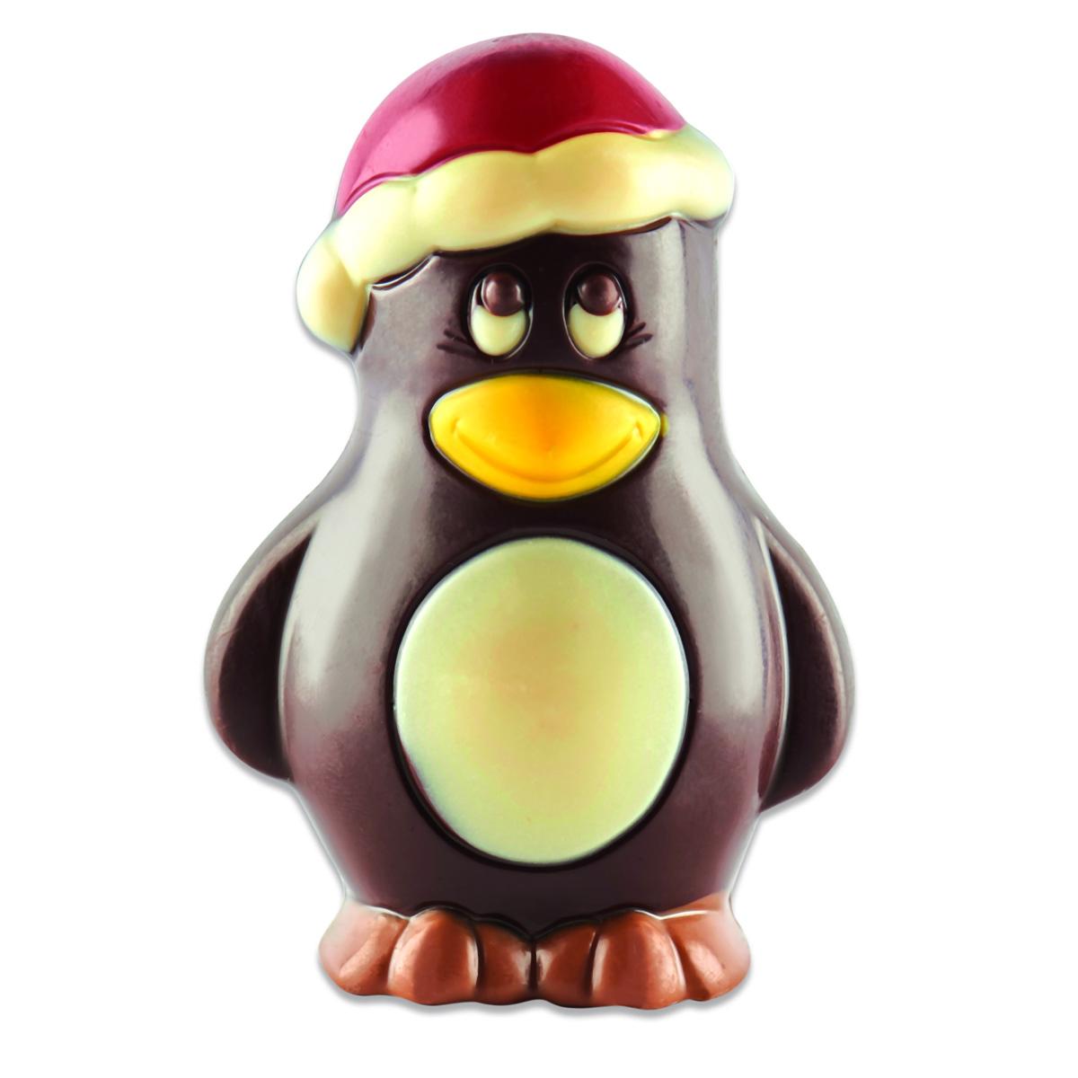 Pingouin chocolat noir, chocolaterie Schaal (50 g)