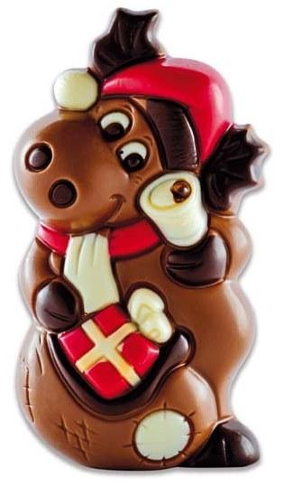 Père Noël Renne, chocolaterie Schaal (60 g)