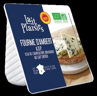 Fourme d'Ambert AOP BIO, 29 % MG/PF, Lait Plaisirs (150 g)