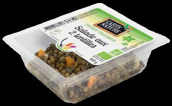Salade aux 2 lentilles BIO, Carte Nature (160 g)