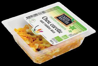 Chou carottes aux raisins secs BIO, Carte Nature (160 g)