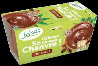 Dessert de chanvre chocolat So Chanvre, Sojade (x 2, 200 g)