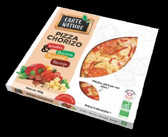 Pizza chorizo BIO, Carte Nature (400 g)