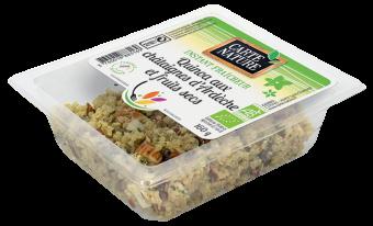 Quinoa aux châtaignes et fruits secs BIO, Carte Nature (160 g)