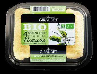Quenelles nature BIO, Giraudet (x 4, 200 g)