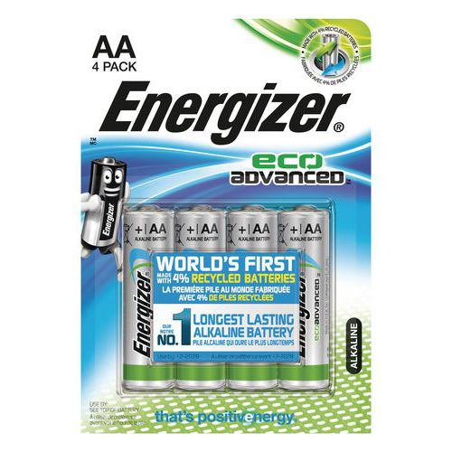 Piles LR06 Eco Advanced AA Energizer (x 4)