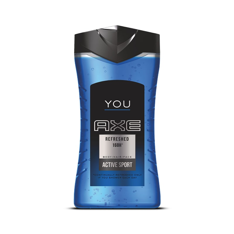 Gel douche You Refreshed, Axe (250 ml)