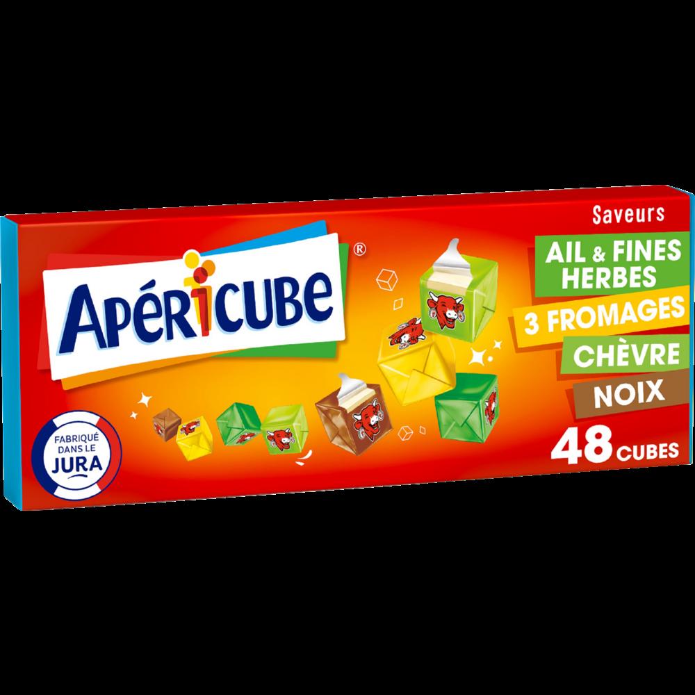 Apericubes Tonic 4 saveurs (x 48, 250 g)