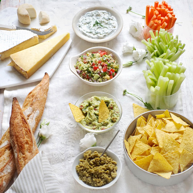 Kit apéro Veggie & Cheese (4 à 8 personnes)