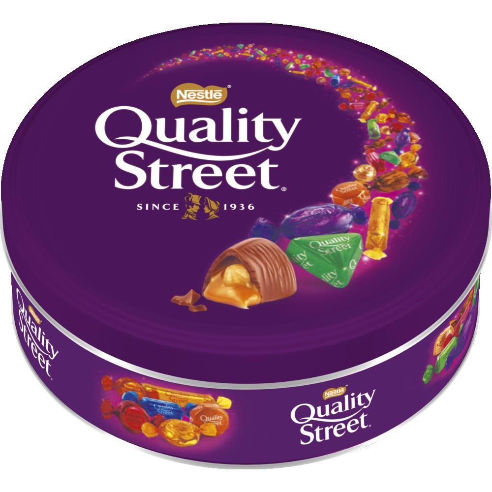 Assortiment de chocolats et toffees, Quality Street (480 g)