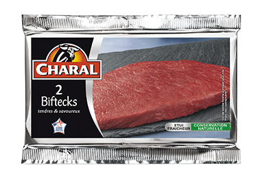 Bifteck de boeuf, Charal (2 x 130 g)