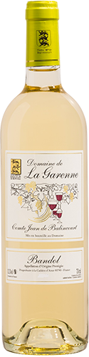 Bandol blanc du domaine la Garenne 2014 (75 cl)