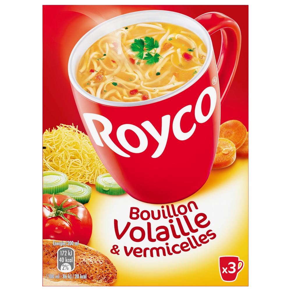 Bouillon de volaille et vermicelles Minute soup', Royco (60 cl)