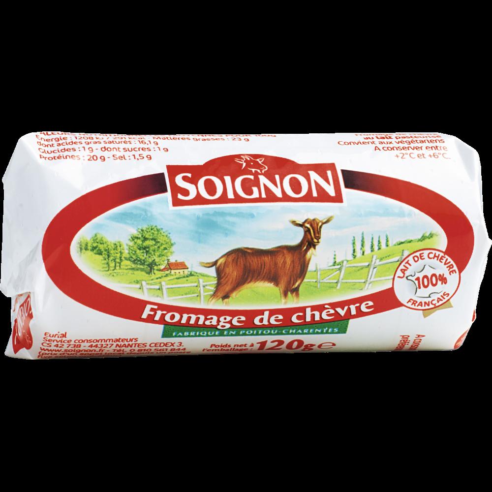 Bûche de chèvre, Soignon (120 g)