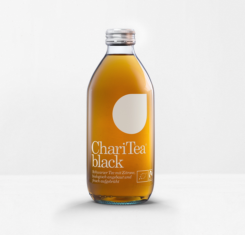 ChariTea black (33 cl)
