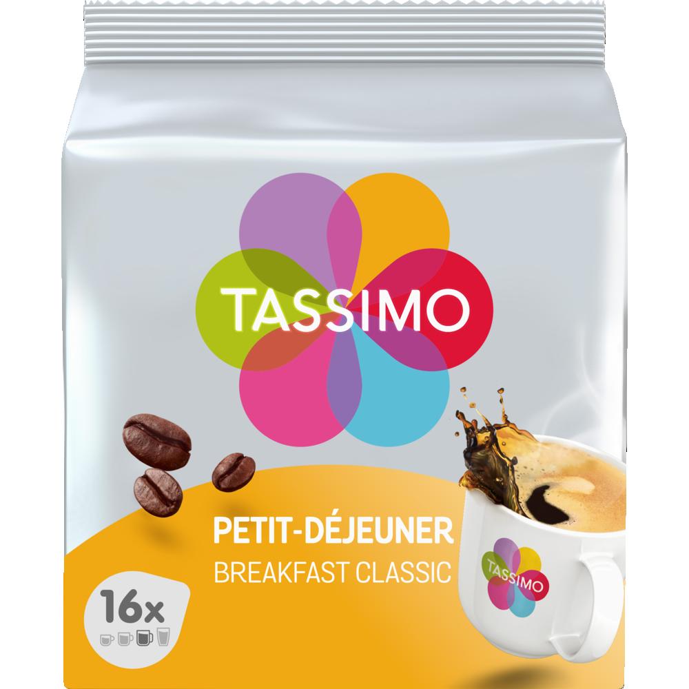 Café dosette petit déjeuner, Tassimo (x 16)