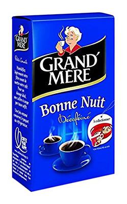 Café moulu Décaféiné Bonne nuit, Grand-Mère (250 g)