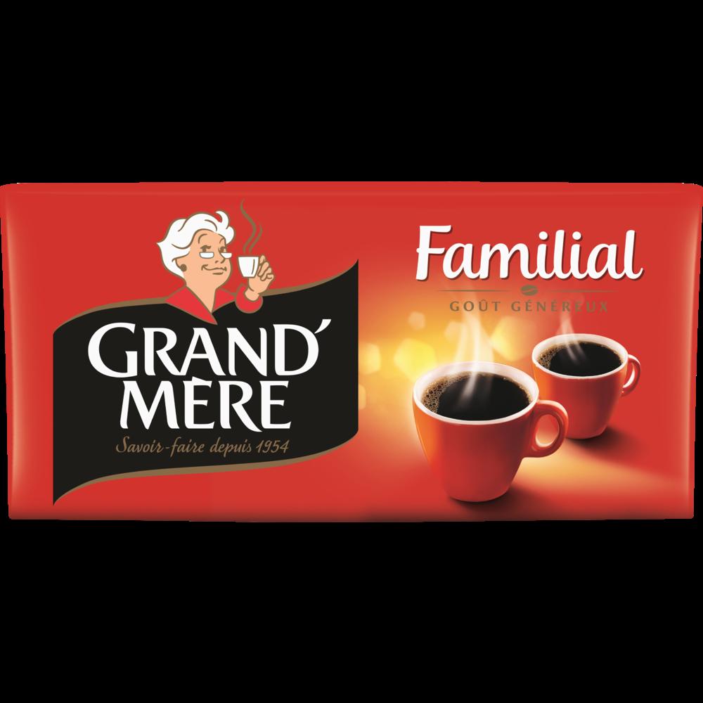 Café moulu, Grand Mère (4 x 250 g)