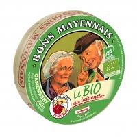 Camembert BIO au lait entier, Bons Mayennais (250 g)
