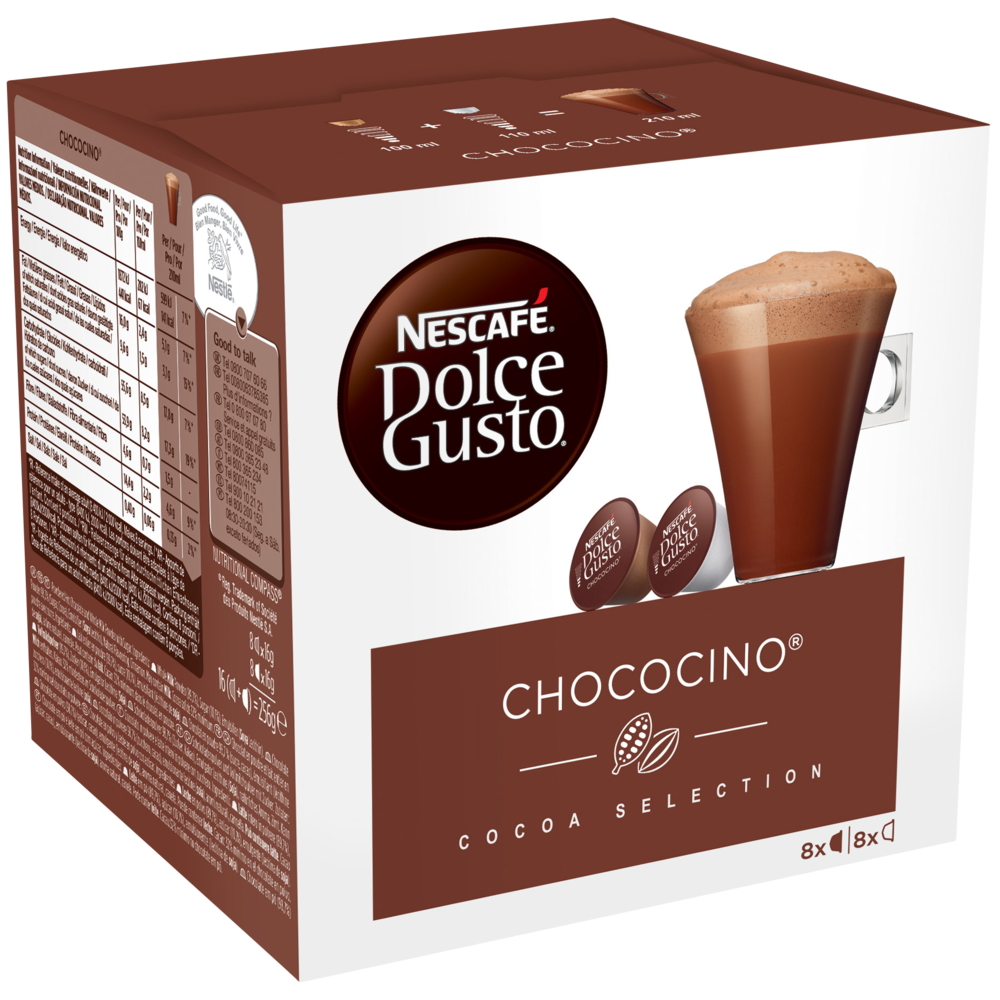 Capsule Chococino, Dolce Gusto (x 16)