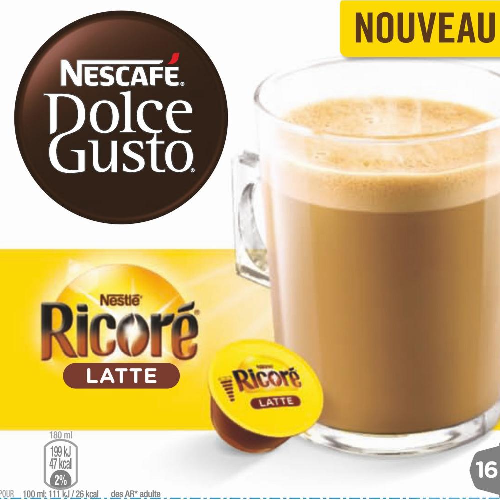 Capsule Ricoré latte, Dolce Gusto (x 16)