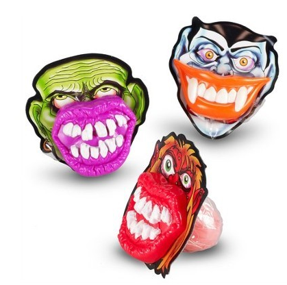 Sucettes bouches de monstres, Spooky Lip Pop (23 g)