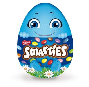 Oeuf géant, Smarties (200 g)