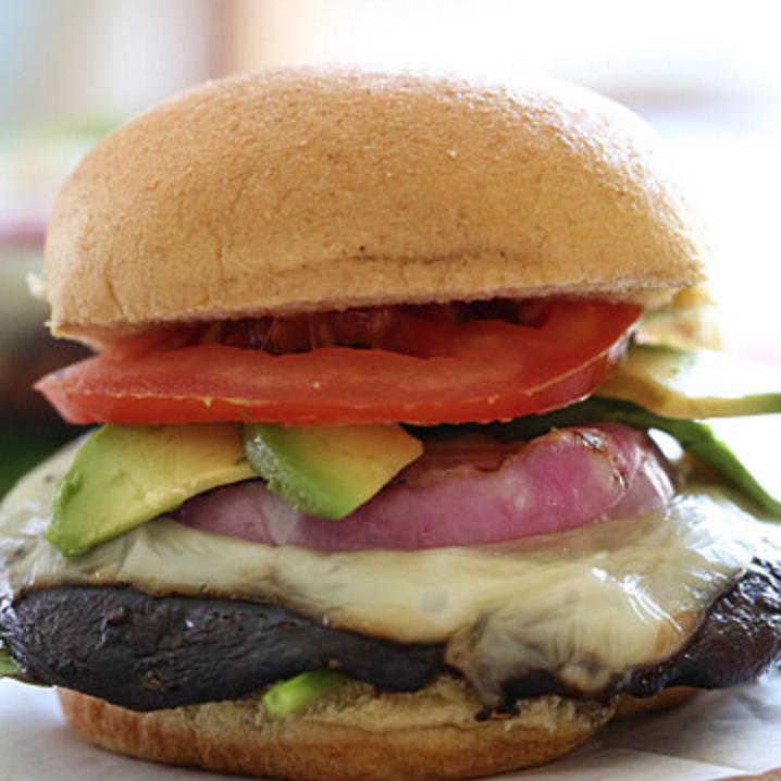Kit 2 Portobello Chavignol burger (veggie)