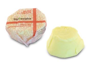 Beurre artisanal pasteurisé demi-sel, Beillevaire (20 g)
