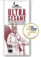 Biscuit croustillant Ultra Sésame, La pierre qui tourne (140 g)