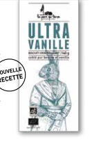 Sablés Ultra Vanille, La pierre qui tourne (140 g)
