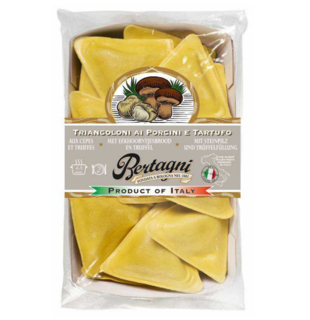 Triangoli Cèpes & Truffe d'été, Bertagni (250 g)