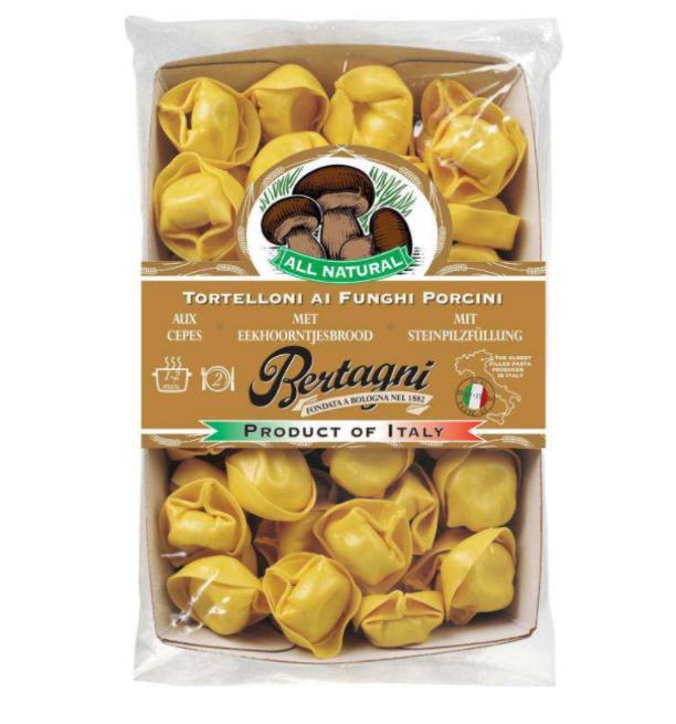 Tortelloni aux cèpes et champignons, Bertagni (250 g)