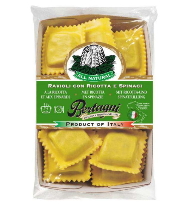 Ravioli Ricotta & Epinard, Bertagni (250 g)